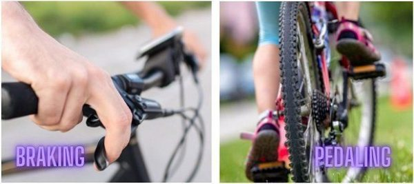 How to Pedaling and Braking
