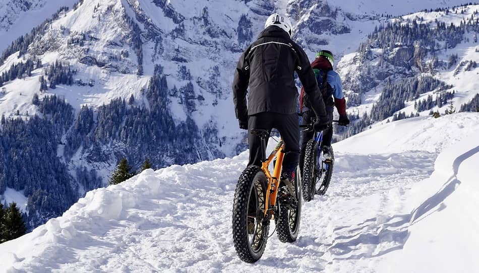 Different types of mountain bikes