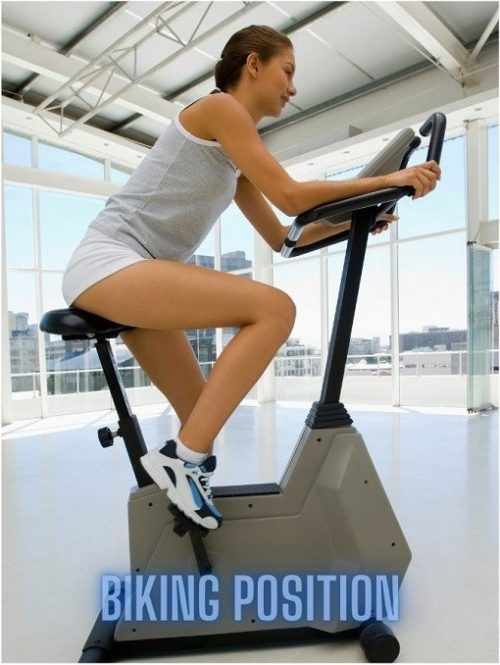 Does an Exercise Bike Tone Your Stomach