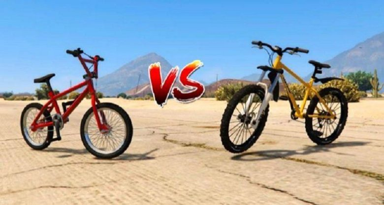 difference between bmx and mountain bike
